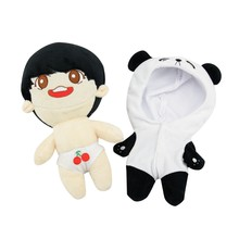 20cm/8 inch KPOP Jeon Jung Kook Plush Toy Stuffed Doll Fans Handmade Gift Collection New Fashion(China)