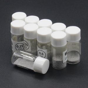 Image 2 - Boule à souder de bouteille pour outils de repassage BGA, 0.25 0.76MM, Sn63 Pb37 25k