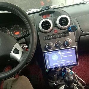 Image 5 - 2G + 32G Android 9.1 DSP IPS dönebilen 1 din araba radyo araba stereo için 360 derece evrensel araba ses Video DVD OYNATICI 4G Wifi