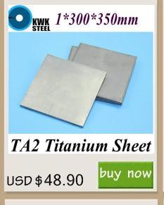 0.8*200*200mm titânio folha uns gr1 ta2 titânio
