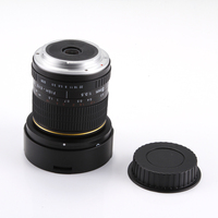 8mm f/3.5 Fisheye Lens Super Wide Angle for Canon 5D Mark III II 3 7D 6D 70D 60D