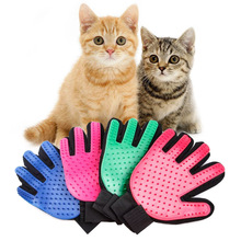 High Quality Glove For Cats Cat Care Pet Dog Hair Deshedding Brush Comb Finger Cleaning Massage for