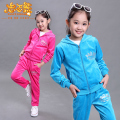 3-14 years spring autumn children girl clothing set big girls sports suit costume kids clothing set suit