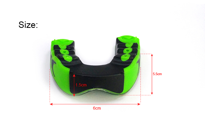 Uprade Mouth Guard 3-Layer Gum Shield Teeth Protector Good Seat Thick Muay Thai Boxing Basketball Rugby Football Sport Guard