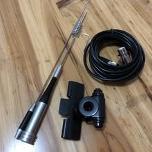 SG M507 anten mobil araba için çift bant 136 174mhz 400 470mhz yüksek kazanç uzun mesafe mini cep radyo alıcı verici anten