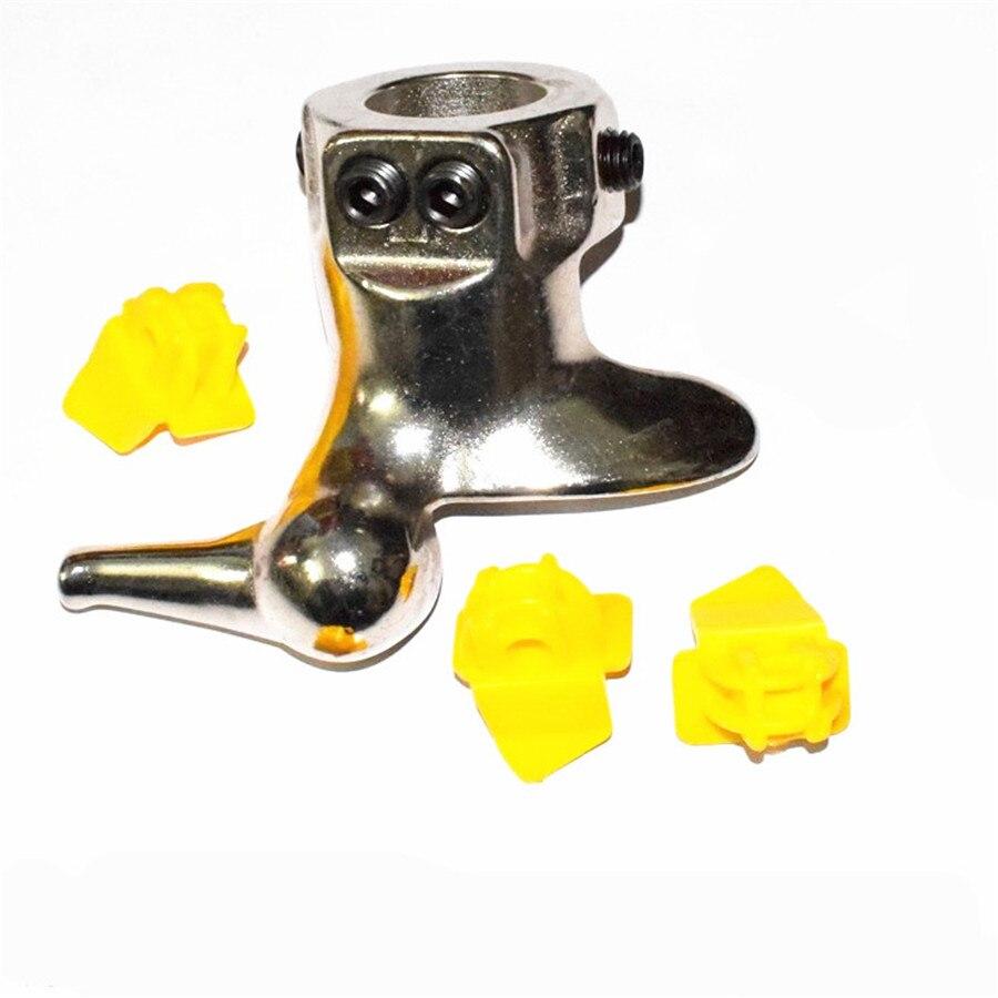 28mm Reifenmontiermaschine Montieren Demontieren Stahlguss Ente Kopfschutz Werkzeuge + 3 Pads Verwenden Für Motorrad/roller/atv/kart Reifen Einfach Zu Verwenden