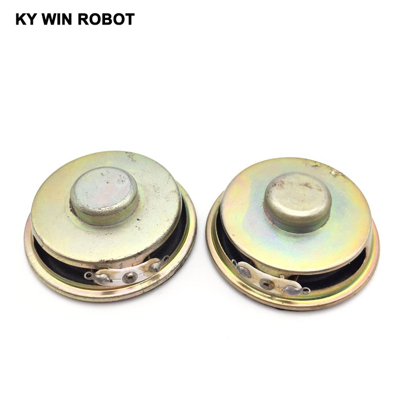 2PCS Lot High Quality Speaker Horn 3W 4R Diameter 5CM 50mm Mini Amplifier Rubber Gasket Loudspeaker Trumpet Thickness 20MM in Acoustic Components from Electronic Components Supplies