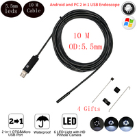 5 5mm 10M Usb Android Endoscope Camera