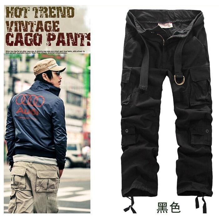Popular Khaki Cargo Pants for Men-Buy Cheap Khaki Cargo Pants for ...