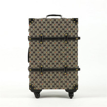 2016 British retro plaid suitcase trolley suitcase caster board chassis suitcase men and women 20-inch 24-inch hot free shipping