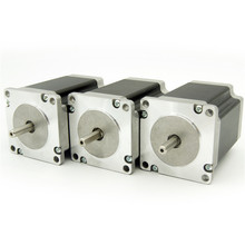 Hot selling! 3 PCS of Nema23 stepper motor, 76mm, 4 wires,1.5N.M 3D printer kit,cnc plasma controller,milling machinery