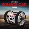 Mini coche rebote peg sj88 rc cars 4ch 2.4 ghz fuerte salto Robot de Control Remoto de Coches RC Coche con Ruedas Flexibles de sumo para regalos
