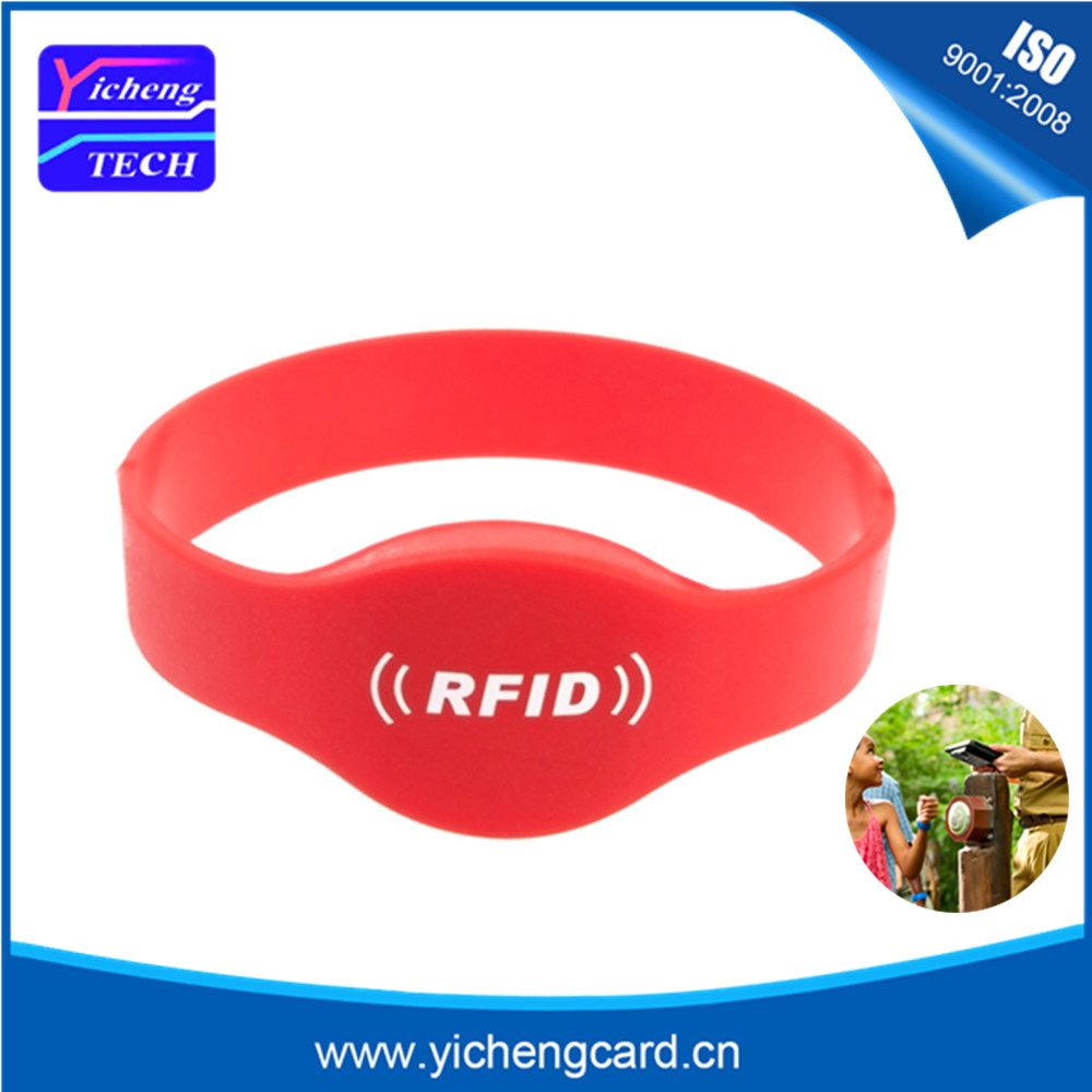 100pcs Waterproof 125Khz RFID Wristband EM4100 Bracelet Silicone Proximity Smart Card Watch Type for Access Control