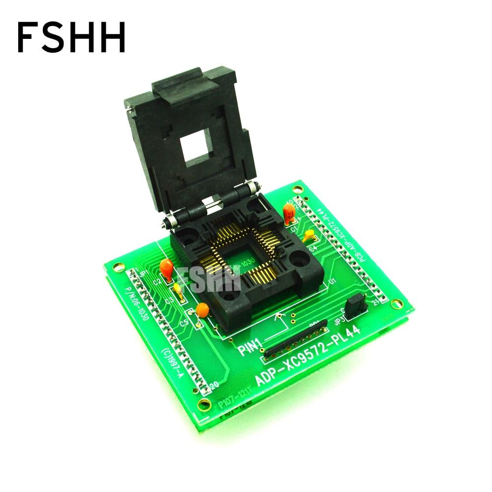ADP-XC9572-PL44 Programmer Adapter For HI-LO ALL-11 Programmer PLCC44 To DIP40 Socket