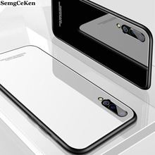SemgCeKen luxury original hard glass mirror case for huawei p20 pro lite p20pro p20lite 2019 silicone 3d back coque phone cover