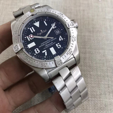 Limited Luxury Brand Avenger Seawolf II Black Blue Automatic Mechanical Men Watch Stainless Steel Watches Sapphire Glass AAA+