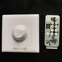 Led dimmer telecomando a raggi infrarossi commutatore 86 pannello scr dimming interruttore ac 110 v 220 v
