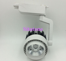 10PCS DHL FEDEX Free shipping AC85-265V small 30W LED track light 3000LM 2 years warranty(China)