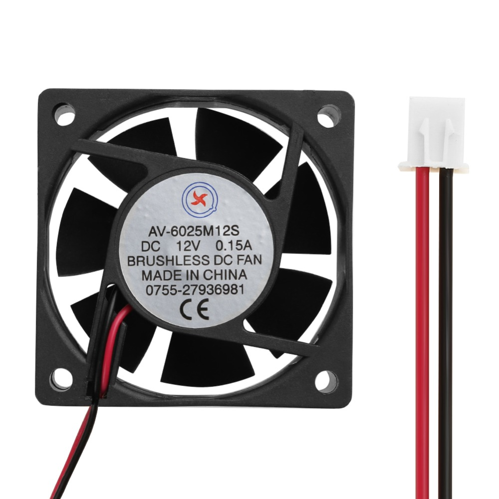 60*60*25/80*80*15/92*92*25mm Low Noise  Brushless Cooling Fan Computer Cooler System PC Accessories