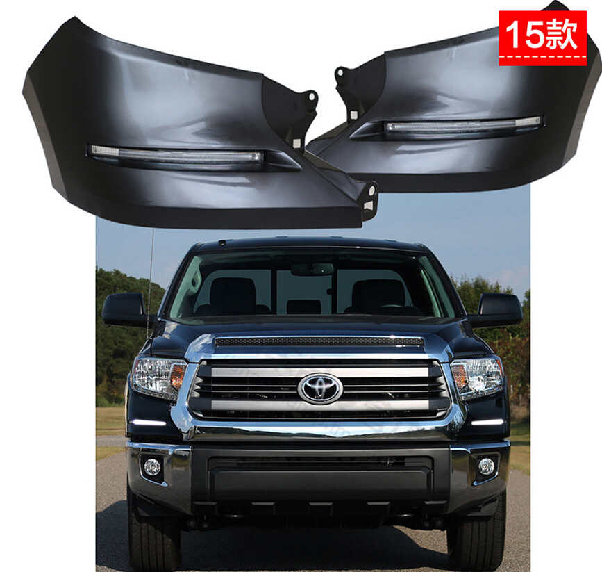 free shipping ,LED Daytime Running Lights DRL LED Front Bumper Fog Lamp case for Toyota Tundra 2015, complete kit new notebook laptop keyboard for lenovo y40 70 us layout