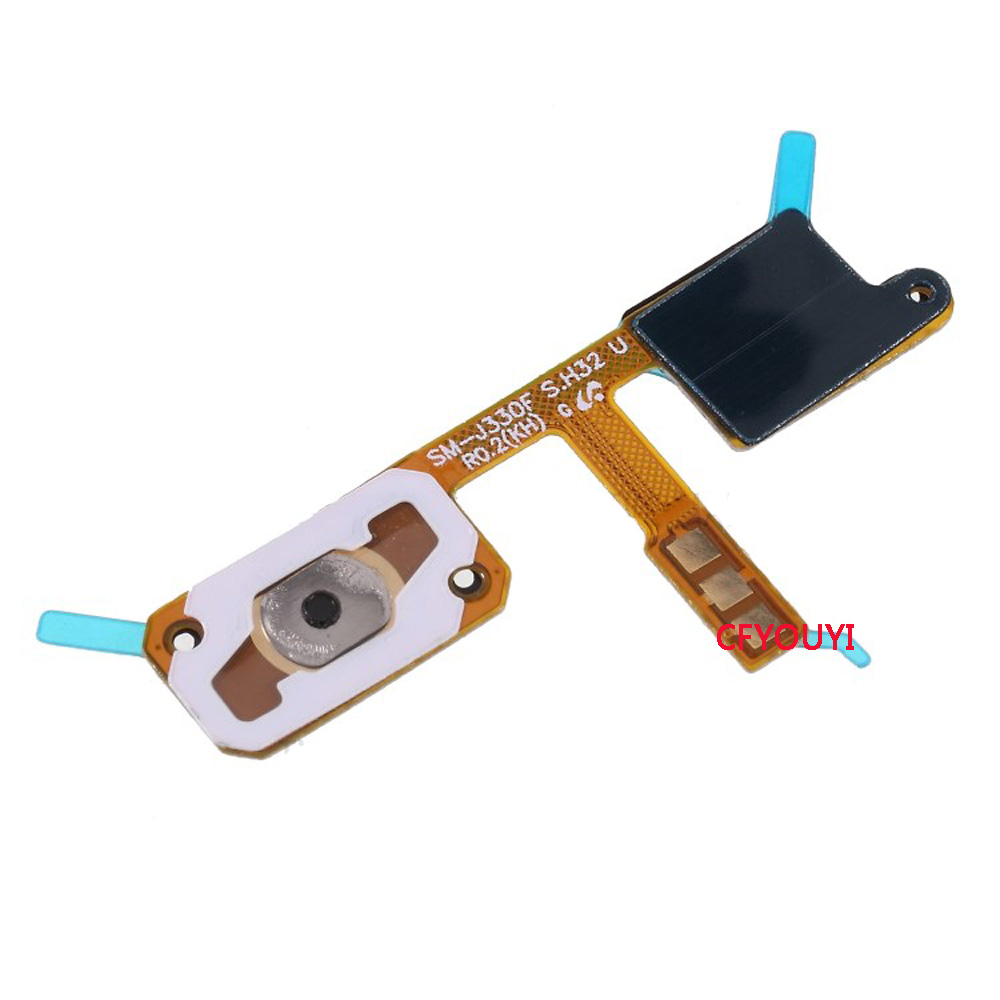 CFYOUYI Home Button Flex Cable Part For Samsung Galaxy J3 2017 J330