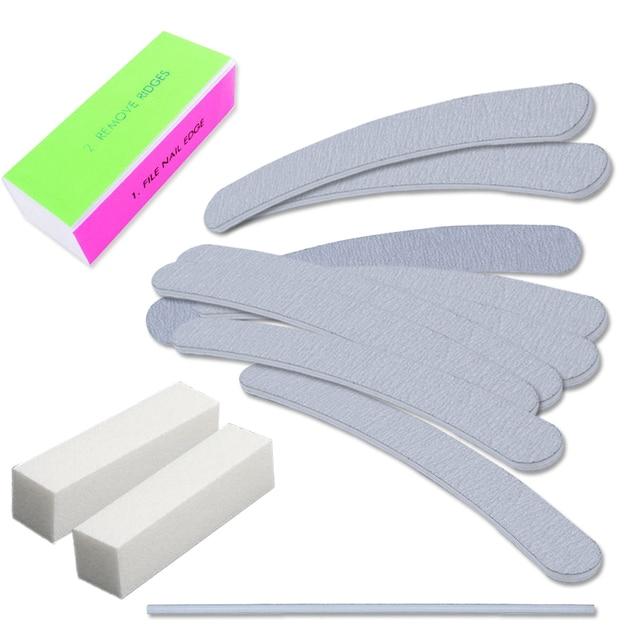 Elite99 13 teile/satz Nagel Schleifen Dateien 4 Weg Puffer Block Nail art Salon Maniküre Pediküre Pflege Werkzeuge Kit Set