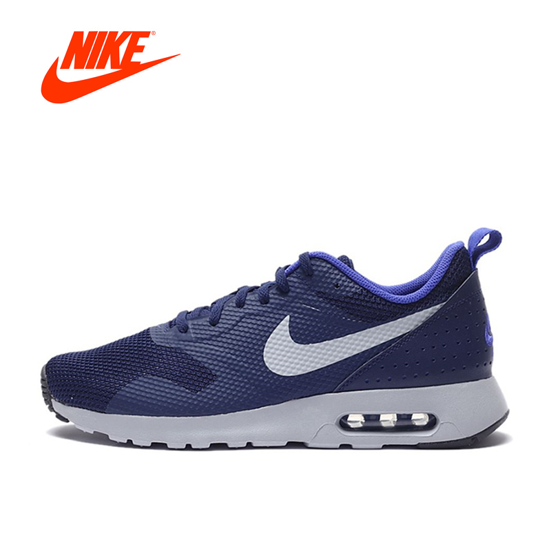 Original Authentic Nike Air Max TAVAS Men's Breathable Running Shoes Sneakers Mens Athletic Shoes Tennis New Arrival nike original new arrival mens air max tavas breathable low top running shoes sneakers for men