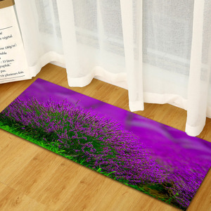 Image 5 - Gratis Verzending Paars Lavendel Anti Slip Badmat Deur Vloer Tapetes Para Casa Sala Tapijt Voor Toliet Antislip Alfombra Bano