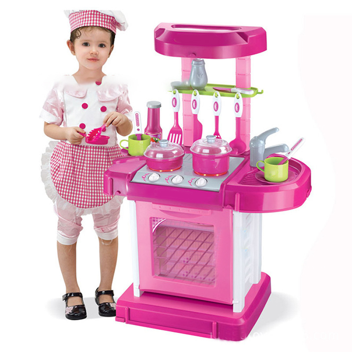 Child Pretend Kitchen Toys Multifunctional Children Play Toy Large Kitchen Cooking Simulation Pretend Play Cooking Toys кроссовки girlhood girlhood gi021awbczn0