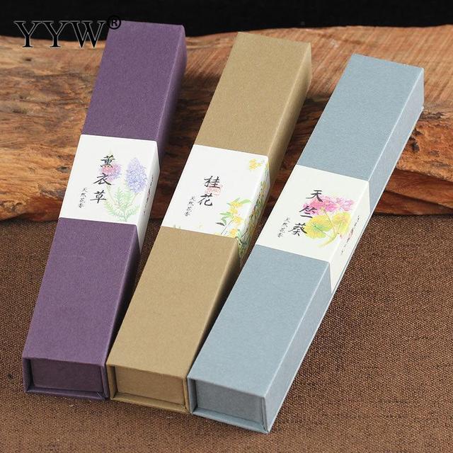 55 pz/scatola Floreale Incenso Spiedi India Profumo di Lavanda Casa Profumo Diffusore Incent Spiedi Casa Bevanda Rinfrescante di Aria Più Aromaterapia