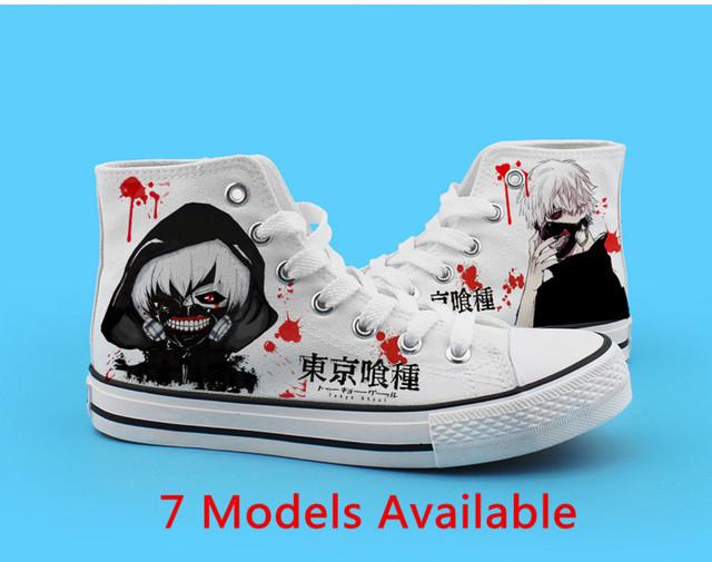 Tokyo Ghoul Kaneki Ken Fashion Canvas Shoes