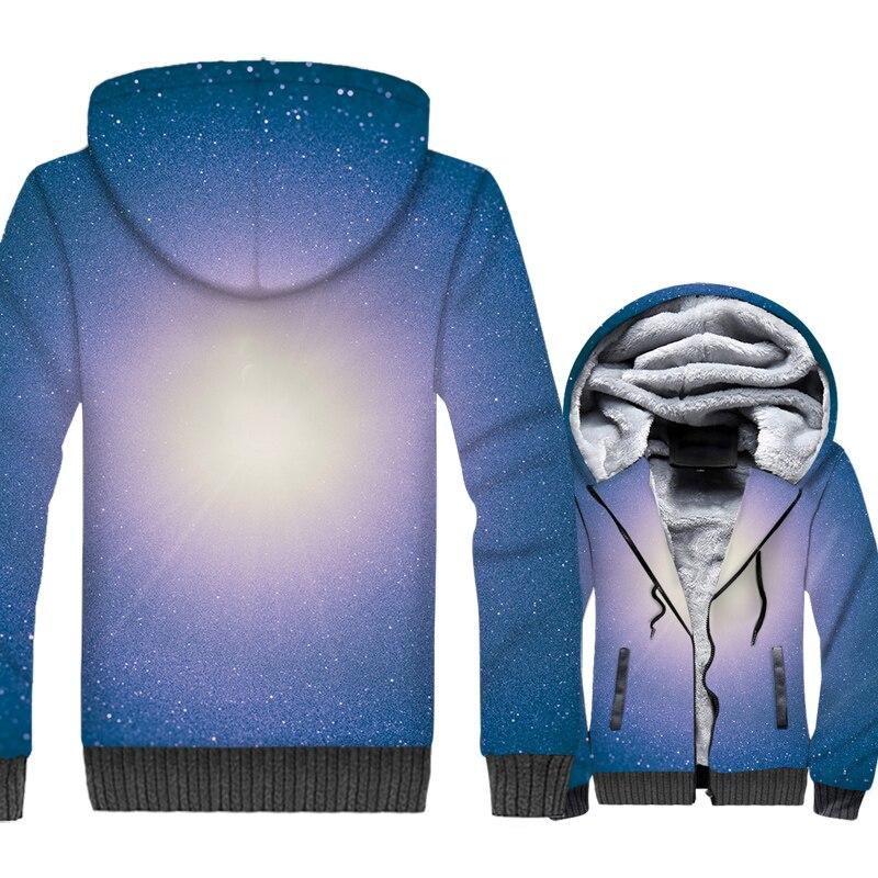 Space Galaxy 3D Print Hoodie Men Colorful Paisley Nebula Stars Sweatshirt Harajuku Coat Winter Thick Fleece Dreamlike Jacket 5XL in Hoodies amp Sweatshirts from Men 39 s Clothing