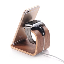 Wooden Charging Stand For Apple Watch