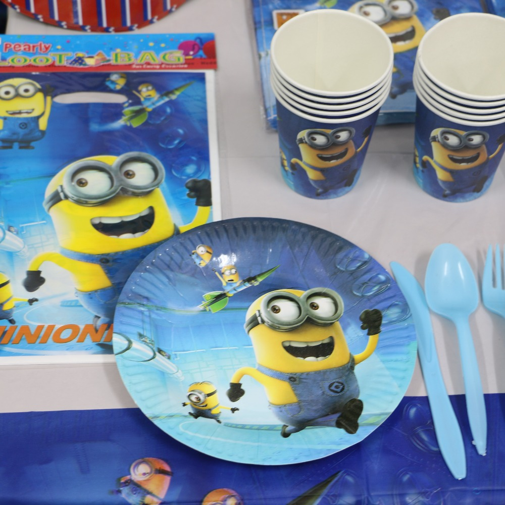 Hot Sale Despicable Me Minions Party Supplies Kids Birthday Party Decoration  Set For Baby Shower Party Supplies Sets P288 In Event U0026 Party From Home ...