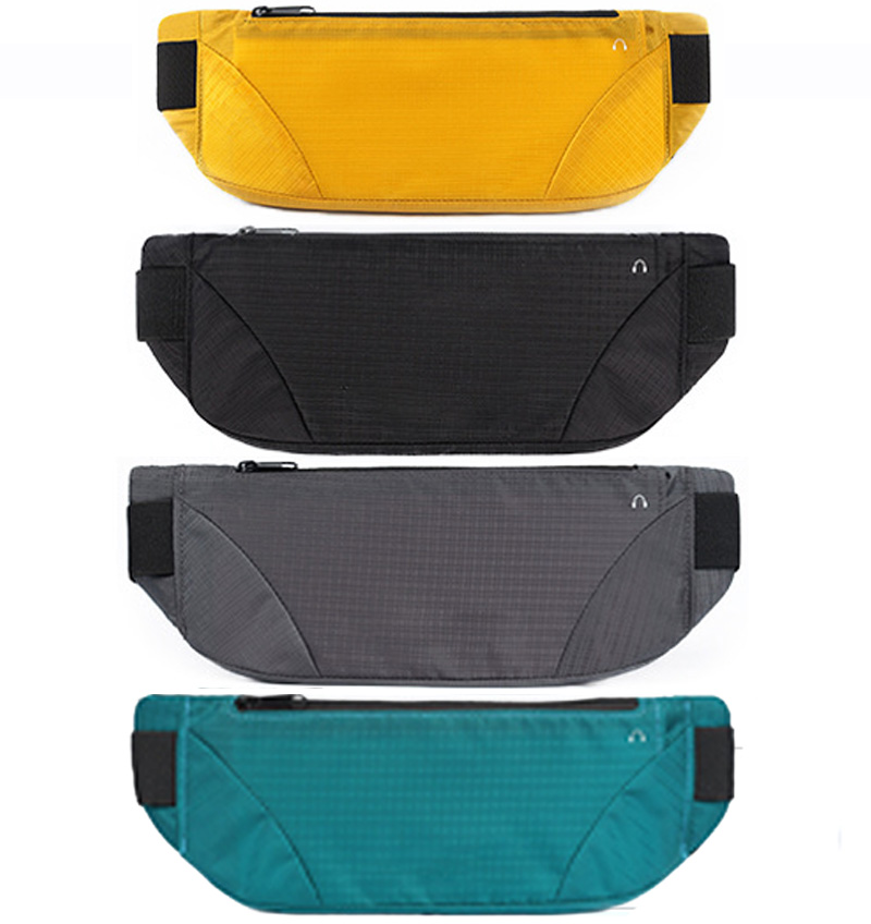 Running Waist Bag Frosted Sport Bags Jogging Pack Cycling Pouch Pocket Waterproof Wallet Hiking Portable Big Capacity Waist Bag