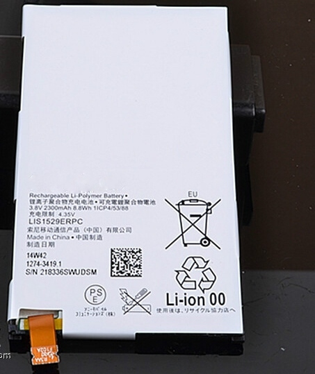 LIS1529ERPC Genuine Real Original 2300mAh Replacement Battery for Sony Xperia Z1 mini D5503 Xperia Z1 Compact M51w Battery