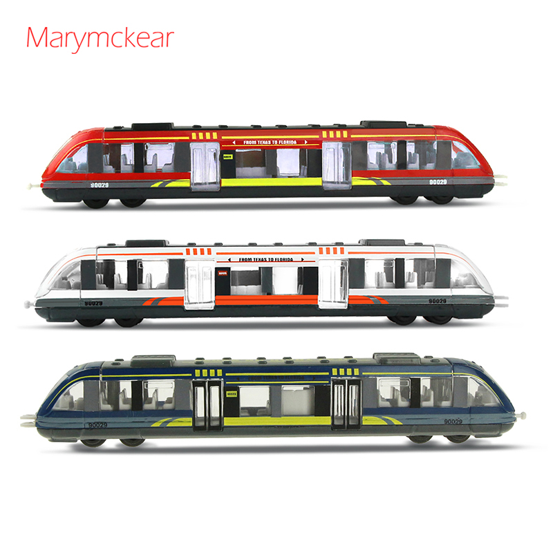 1 Pcs High-speed Rail Model Die Cast Model Children Toys Alloy Car Toy Mini Car Subway Model Interesting Toys Kids Gift For Boys