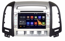 GIFTS ROM 16G 1024*600 Quad Core Android 5.1.1 Fit Hyundai SANTA FE 2006 – 2010 – 2012 Car DVD Player Navigation GPS TV 3G Radio