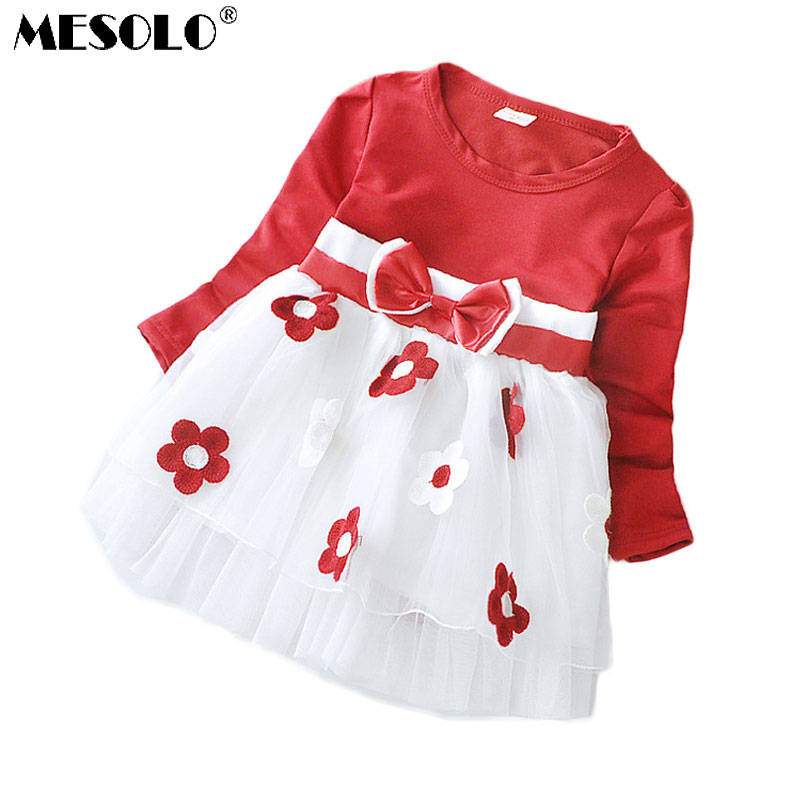 Cute Baby Girl Dress Cotton Children Kids Baby Girls Dresses One Piece Baby Autumn Clothing For School Casual Wear Clothes Girl children clothing new winter style knitted thick warm girl dress mesh patchwork o neck cute autumn baby kids girls dresses xl269