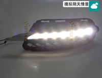 LED DRL Daytime Running Light For Mercedes Benz W221 S300 S500 S350 S600 2009 12 2pcs
