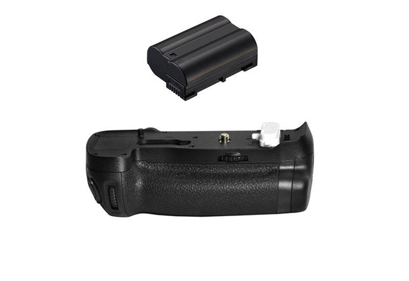 MB-D18 substituição bateria aperto + EN-EL15 el15 bateria para nikon d850 digital slr câmeras.