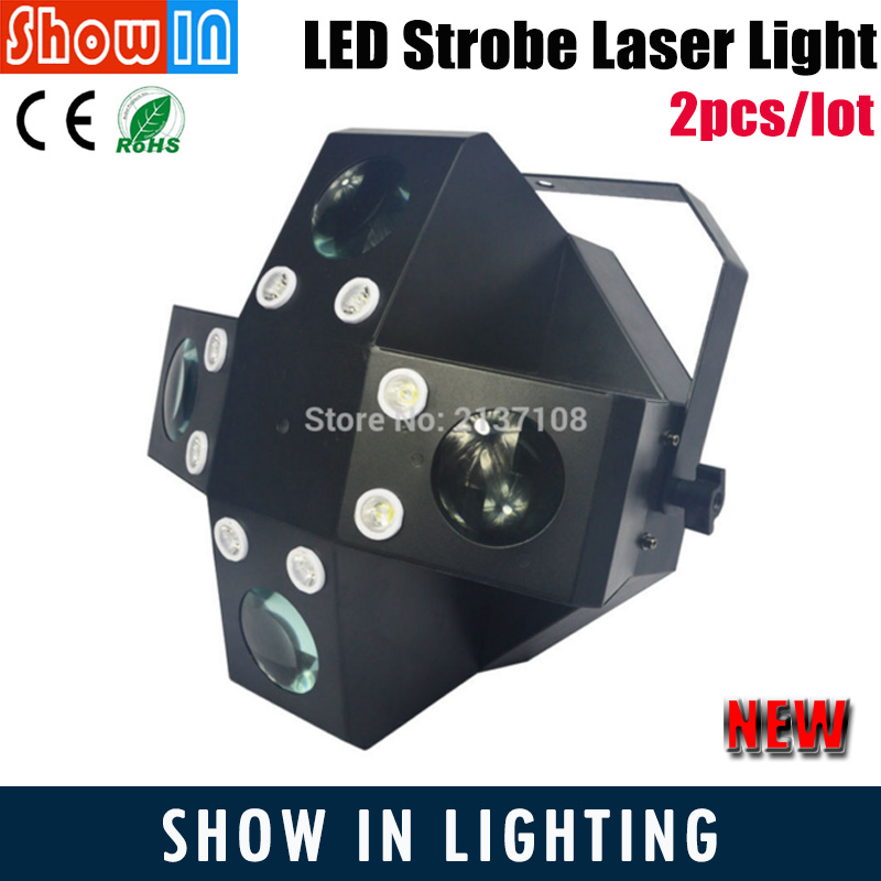 LED Strobe Laser Light Sale DMX DJ Disco Party Wedding Professional Stage Lighting Projector 8PCS 1W White 28PCS 3W RGBWA