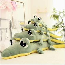 WYZHY Creative software crocodile plush toy doll sofa bedroom decoration to send friends and children gifts 90CM
