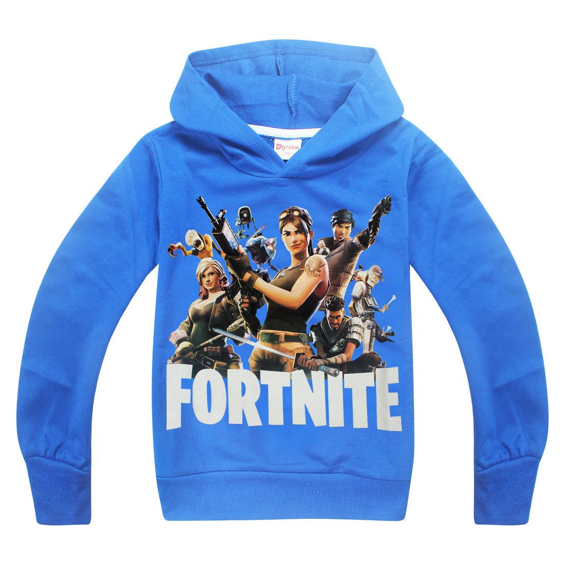 NEW fortnite New robloxSpring Baby Girl Cute T-shirts Cartoon Long Sleeve Lovely Tshirt for Girls Casual active kids top