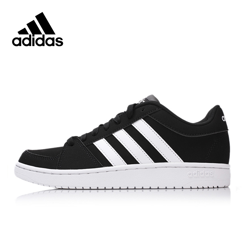 Official Adidas NEO Men's Low Top Skateboarding Shoes Sneakers Classic Comfortable Breathable Sports Men Shoes official new arrival adidas neo label baseline men s leather low top skateboarding shoes sneakers classic shoes