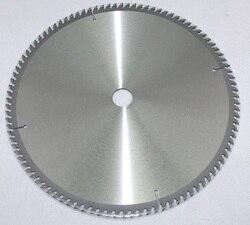 Hojas de sierra con punta de carburo de tungsteno de 12 para corte profesional de tubo de acero inoxidable 304