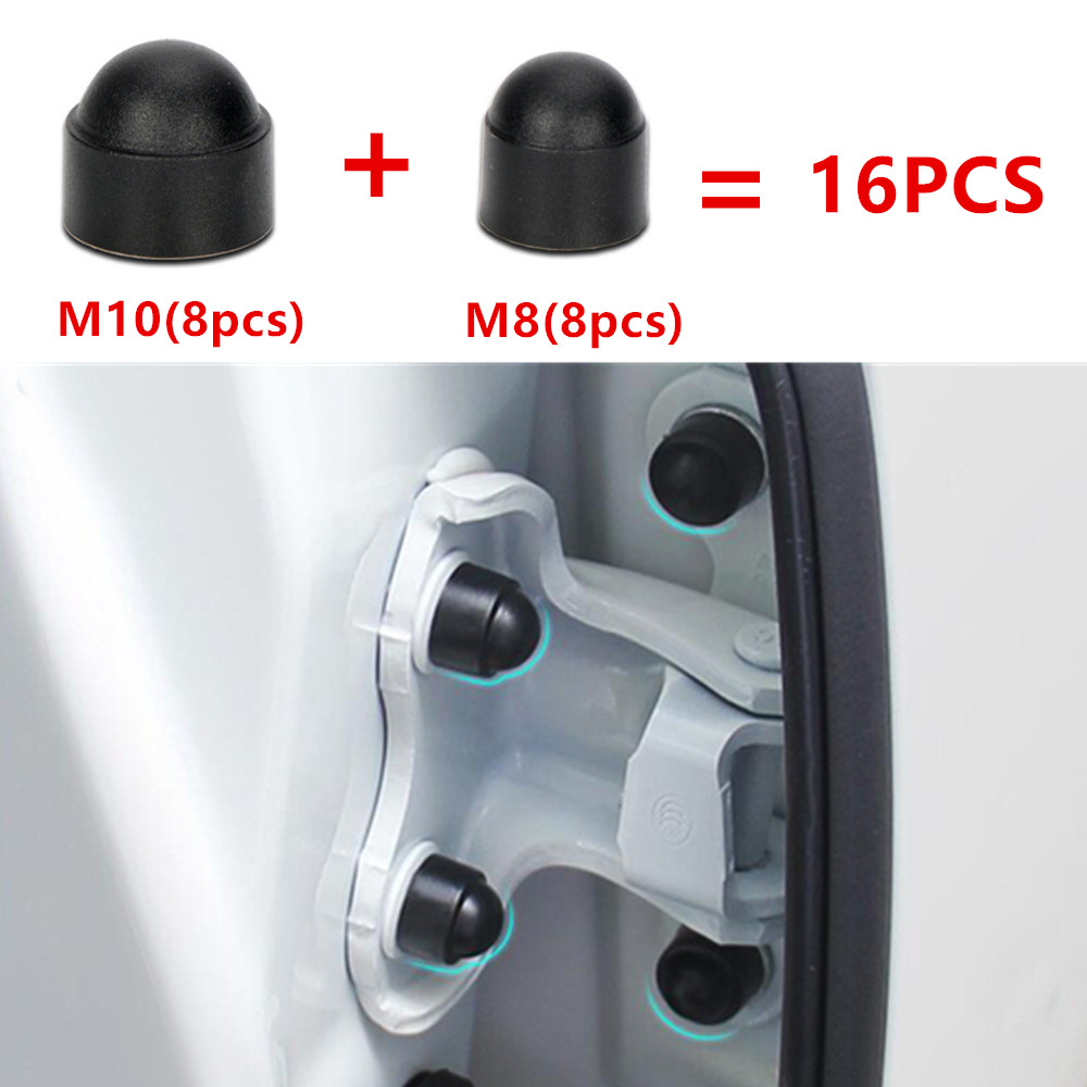 16PCS Car Interior Accessories AUniversal Auto Screw Protection Cap For Toyota Corolla Camry RAV4 Yaris Prius Car Styling