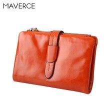 Купить с кэшбэком 2 Colors fashion Women Wallets Solid color smooth Women's Purse  Long Design Zipper Ladies Wallet Genuine Leather Card Holder