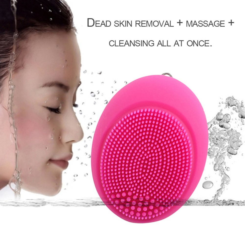 Thailand's best-selling section electric silicone cleansing instrument waterproof electric mini cleanser