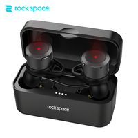 ROCKSPACE True Wireless Earbuds Bluetooth Earphone EB10 TWS Stereo Headphones For IPhone Charger Box Portable Sports